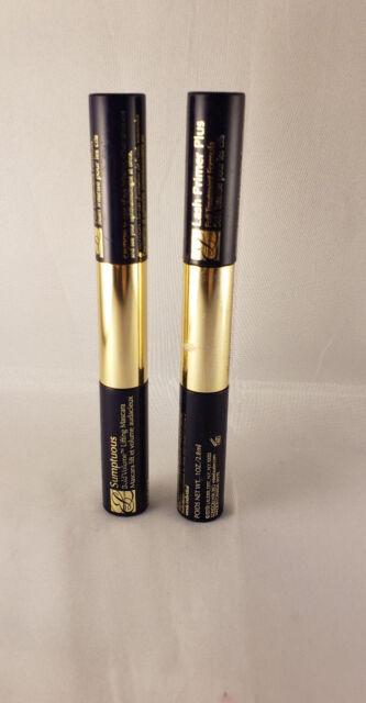 estee lauder sumptuous lash primer plus bold volume lifting mascara # 01 black