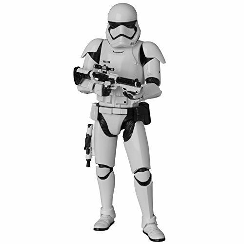Nuovo Compagno Giocattolo Action Figure Mafex Star Wars First Order Stormtrooper