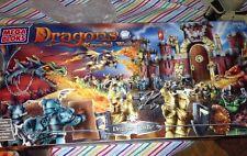 Mega Bloks Dragons Krystal Wars Draiger Castle 9898 NEW in Box