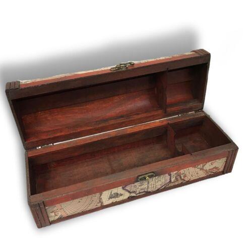 Allgala Wooden Wine Box Antique Finish