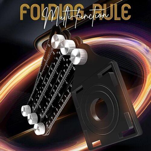 Multi-Function Ceramic Tile Universal Hole Locator opposite Sex Folding Rules | eBay