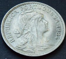 1964 Portugal 50 Centavos Moneda KM # 577 De Alta Calidad