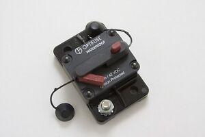 Hi Amp Type III Manual Reset Circuit Breaker, Flush/Surface Mount 100A