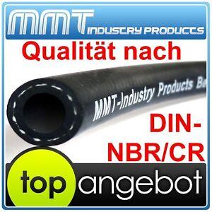 Kraftstoffschlauch D 9,5 mm Textil DIN 73379-2A