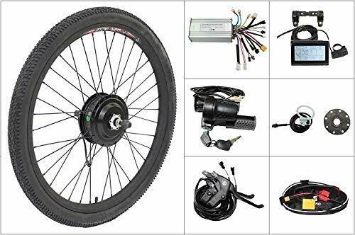 Bafang 36V 500W Brushless Geared Hub Motor Rear Wheel Ebike Conversion Kit 20-29