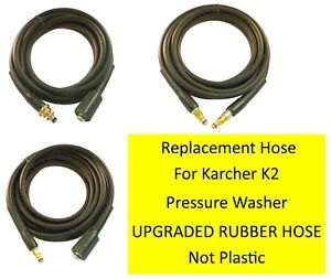 Karcher-K2-Hose-RUBBER-Pressure-Washer-Replacement-HOSE-choose-your-style