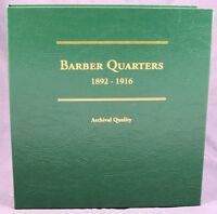Coin Album By Littleton Barber Quarters 1892 - 1916, Lca26