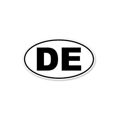 CarTruckHomeLaptopComputerPhone Decal Di-cut Decal Delaware State Oval