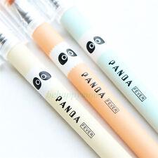 New 6pcs Cute Panda Black ink Rollerball Pens/Gel Ink Pens-0.5mm Office Supplies