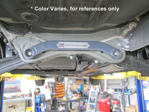 Megan Front Rear Lower Tie Strut Bar Fits Civic 12-15 Acura ILX 13-15 Blue 2pcs