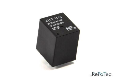 2 Relais 4117-U-Z NEU Fiat Punto Servo Problem Rele Relay Power Steering