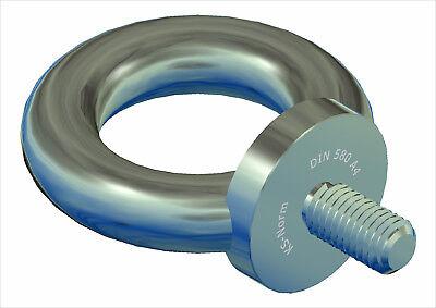 Ringschraube DIN 580 C15E Stahl  M 8 bis M 42 Portofrei Normalien