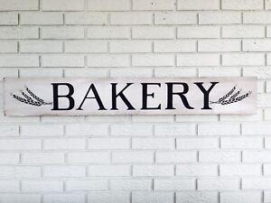 Details About Bakery Sign Farmhouse Style Bakery Shop Decor Kitchen Wall Decor Cafe Art