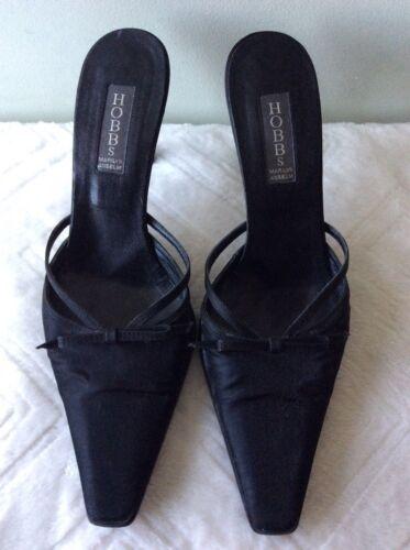 5 Mule Satin Anselm Hobbs Ladies 38 Stiletto Black Size Marilyn YwUfU87Tnp