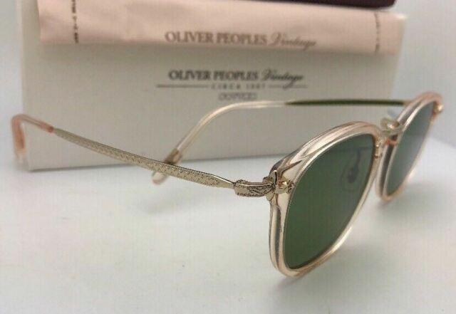 Oliver Peoples OV 5350 S OP-506 Sun 109452 Buff avec Vert Lunettes de soleil C