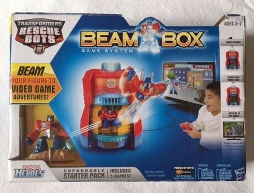 Transformers Rescue Bots Beam Box Game System Video Game Adventures  New
