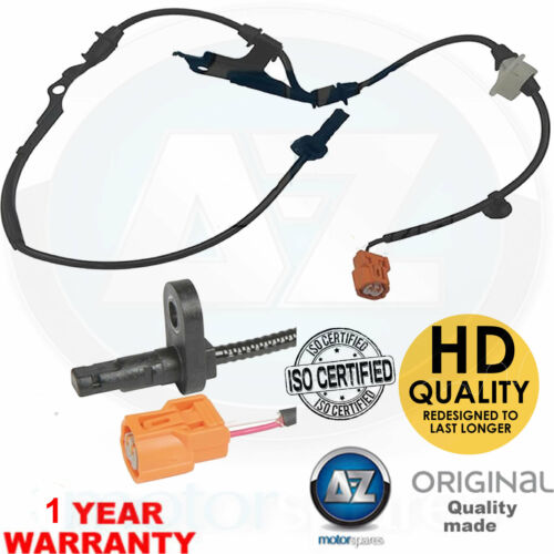 For Honda Accord 2.0 2.2 ICDTI 2.4 saloon estate CL CM ABS speed sensor front LH