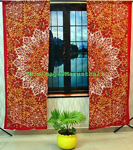 Das Bild Wird Geladen  Indisch Mandala Medaillon Vorhang Tribal Boho Hippie Indischen