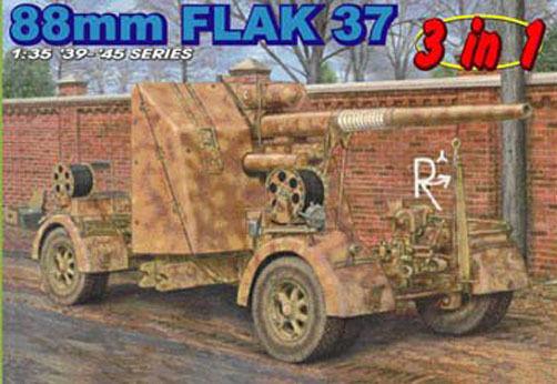 Dragon 1 35 cm Gun Flak 37