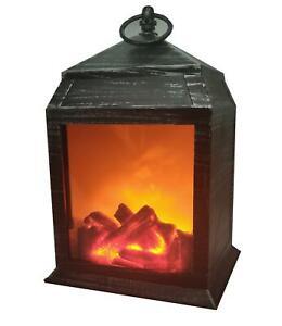 Retro Tv Parpadeo Llama Lámpara LED decoración Luz Interior registro de fuego falso Dimmer