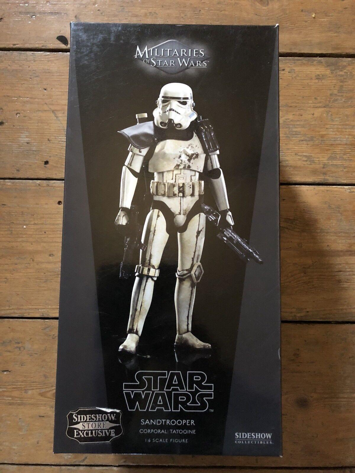 venta caliente Sideshow ejércitos de de de Estrella Wars Sandtrooper Exclusivo corporal  Tatooin afssc 241  caliente
