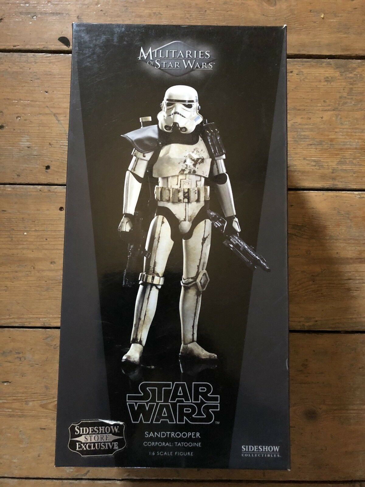 Sideshow ejércitos de Star Wars Sandtrooper Exclusivo corporal: Tatooin afssc 241