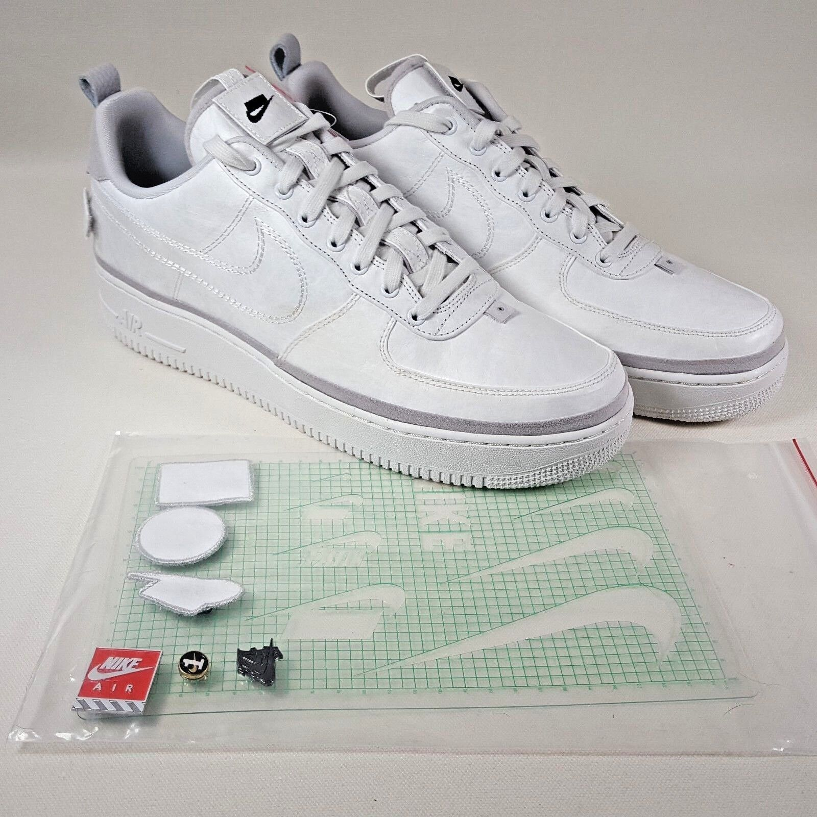 1b8967f415d Nike Air Force 1 Low '07 AS QS All Star 90 10 2018 White Men's Size 13 Vast  Grey nxkqpo1364-Athletic Shoes