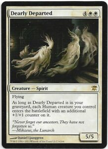 MTG-magic-4x-Dearly-Departed-M-NM-Innistrad