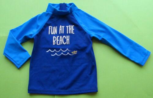 Baby Bade UV-Shirt Lichtschutzfaktor 40 blau langarm NEU mit Etikett