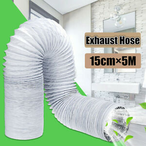 6-039-039-Diameter-199-034-Long-Exhaust-Hose-Tube-Duct-Vent-For-Portable-Air-Conditioner