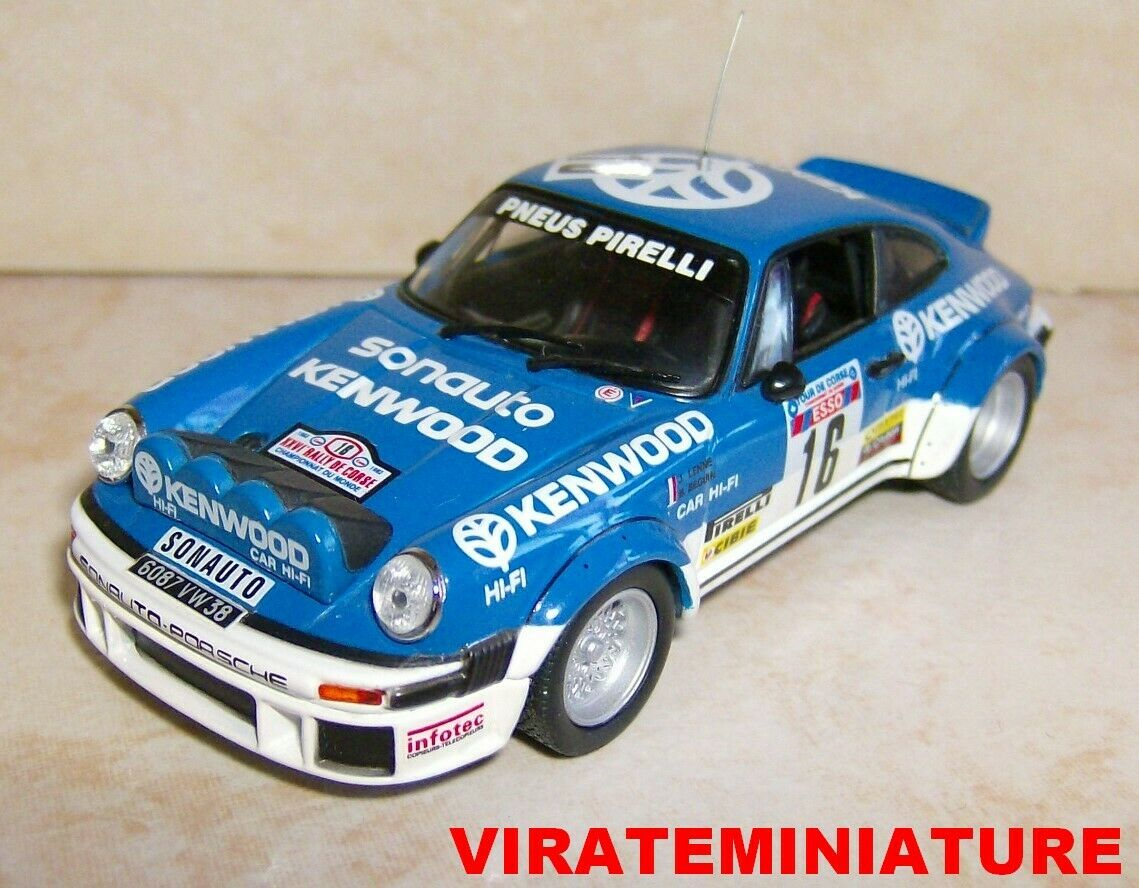 descuento PORSCHE 911 SC 3° TOUR DE CORSE CORSE CORSE 1982 BERNARD BEGUIN UNIVERSAL HOBBIES 1 43  nuevo estilo