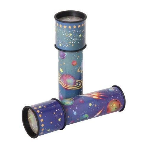 sortiert Drehkappenkaleidoskop UFO// Rakete