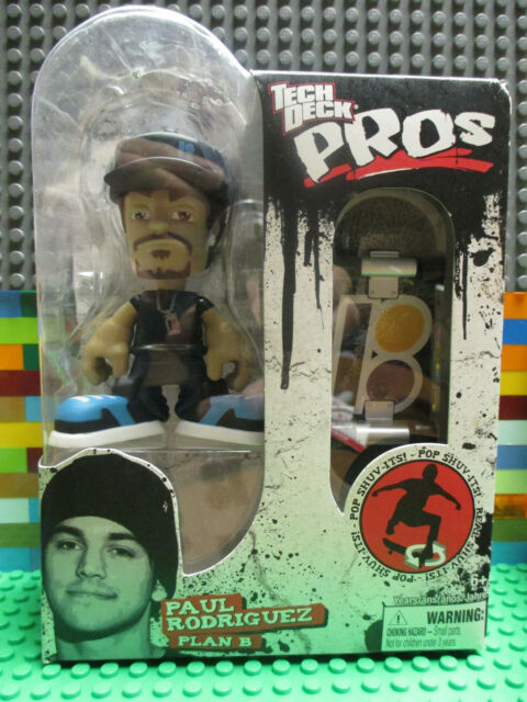 3432137f0f6f8 Tech Deck Pro Skater Action Figure With Skateboard Paul Rodriguez ...