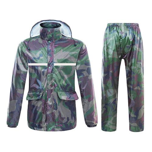 Suits Poncho Cape Unisex Vandring Suit Raincoat Fiskefrakke Kvinder Camo Bukser qfAwHUzx