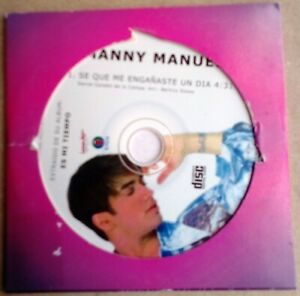 Manny Manuel se que me engañaste un dia CD single