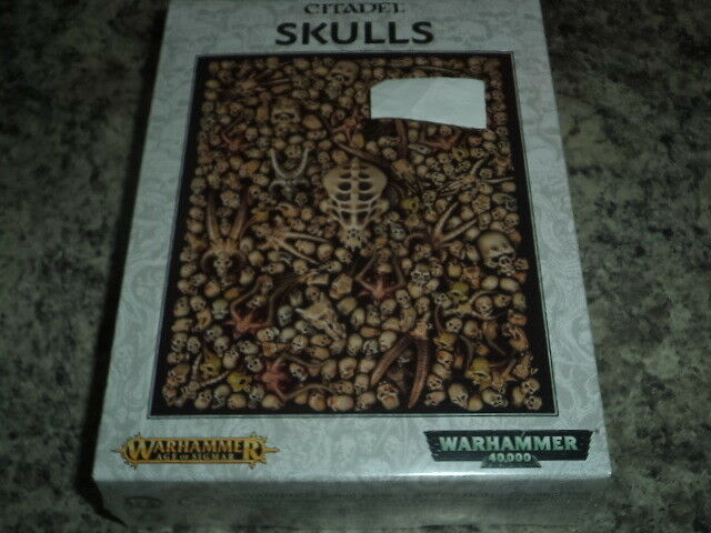 Citadel Skulls Skulls Skulls - Terrain Warhammer 40k 40,000 Games Workshop New  f12b6a