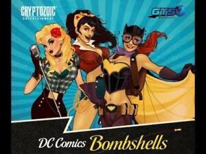 K2 BATWOMAN//POISON IVY 2017 Cryptozoic DC Comics Bombshells PENNANT STICKERS