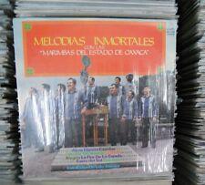MELODIAS INMORTALES CON LAS MARIMBAS DEL ESTADO DE OAXACA MEXICAN LP MARIMBA