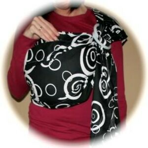 New Padded Ring Sling Baby Toddler Carrier Wrap Tote Ebay