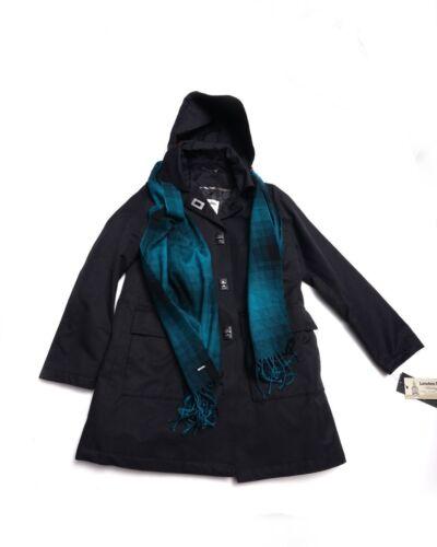 Womens Nwt Hooded Scarf Taglia Trench Hugo London Nuovo W Fog Small 4Af5gxZ