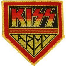 Kiss Pin Badge Army Pennant