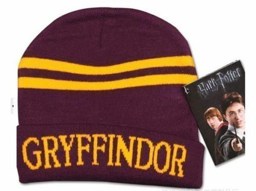 Harry Potter Gryffindor Ravenclaw Slytherin Hufflepuff Scarf Gloves Cap Beanie