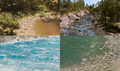 free post P3 Woodland Scenics CW4529 White Water Highlight