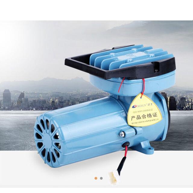 Aquarium Sauerstoffpumpe Luftpumpe Kompressor Teich Belüfter 70L//min 35//45W
