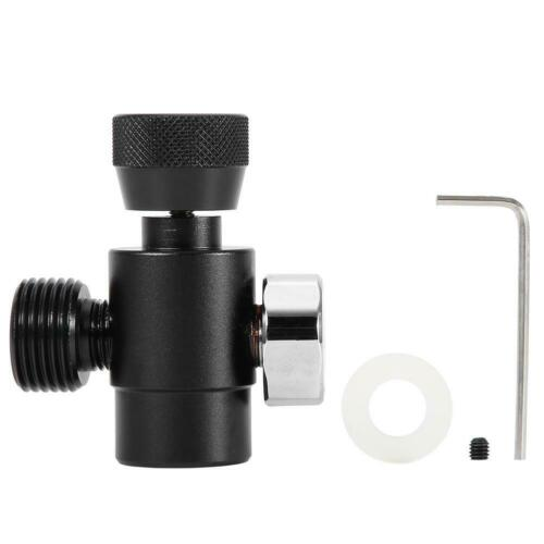 CO2 Filling Tank Cylinder Refill Adapter Connector Kit For SodaStream Black YZ