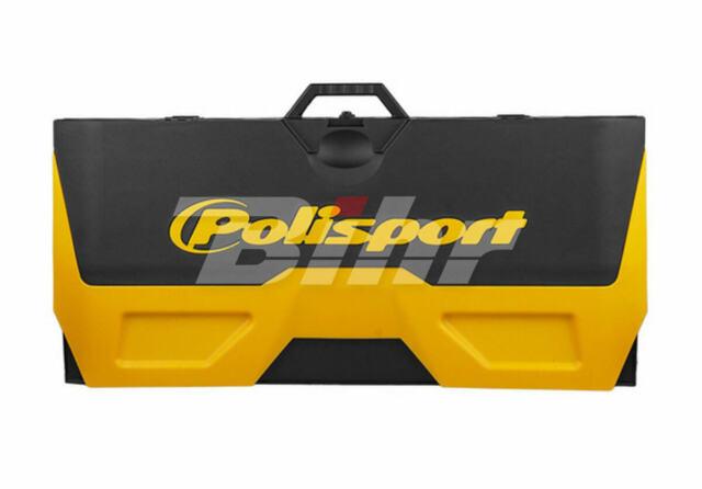 42854: POLISPORT Alfombra plastica de box Polisport amarillo 8982200001