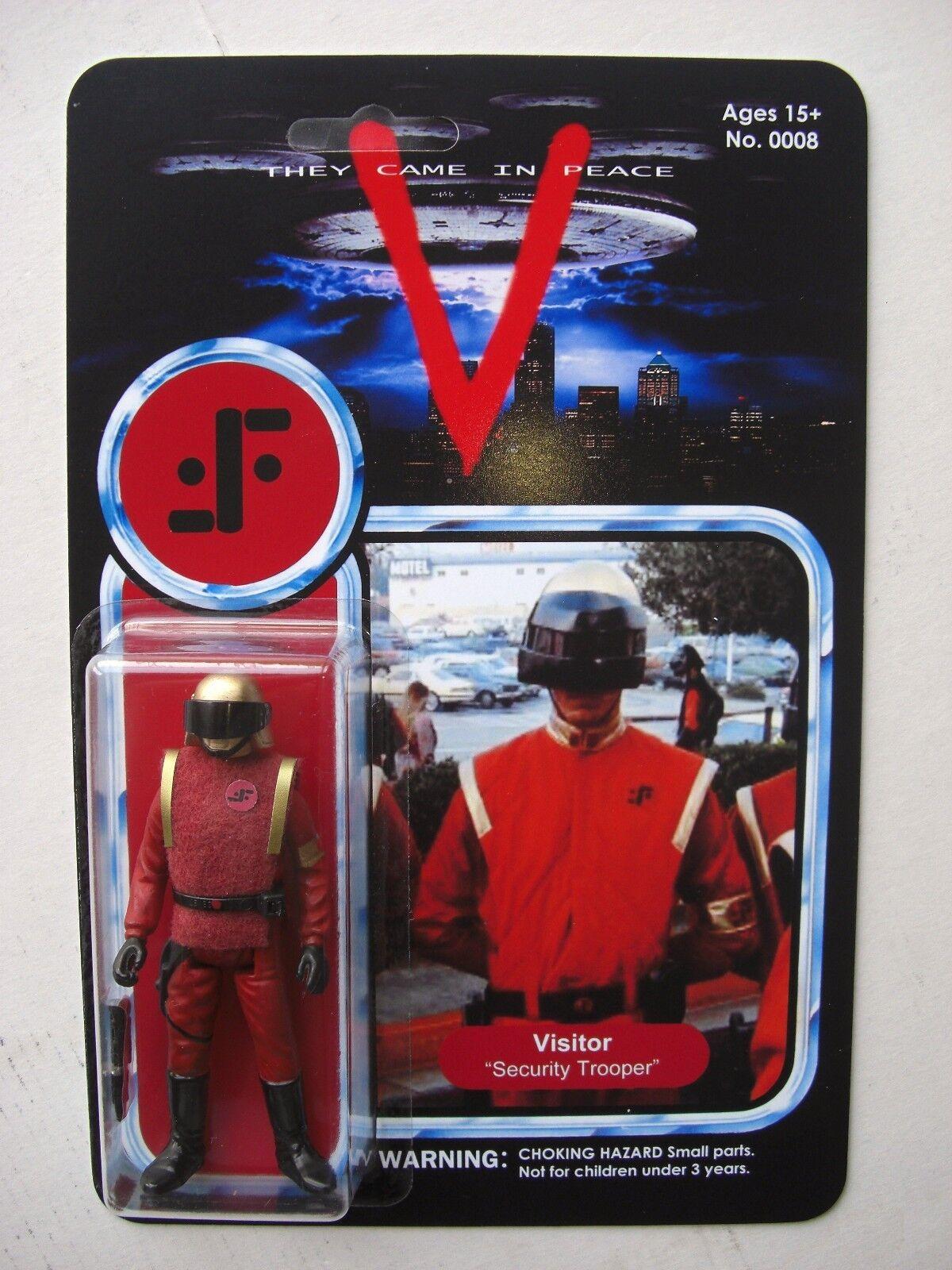 VISITOR SECURITY OFFICER CUSTOM FIGURE MOC V 'Visitor' Vintage Sci-fi TV SHOW