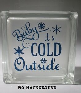 Image Is Loading Baby It 039 S Cold Outside Decal Sticker