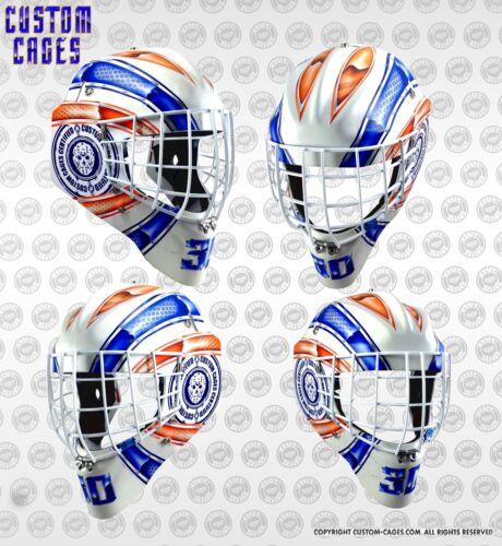 Custom Cages goalie mask vinyl decal set