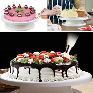 28cm-Cake-Decorating-Turntable-Revolving-Rotating-Icing-Stand-Kitchen-Display